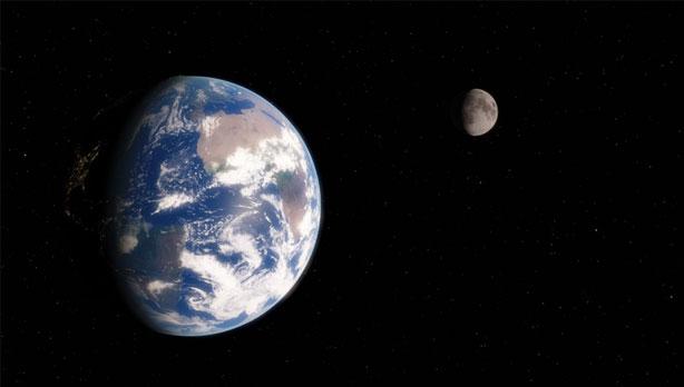 地球と月の関係