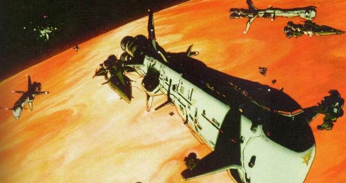 ジオン軍のヘリウム船団