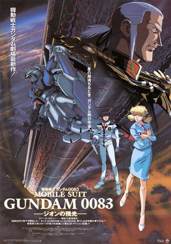 ガンダム映画 0083ジオンの残光ポスター