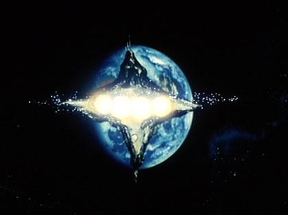 アクシズを地球へどーん!